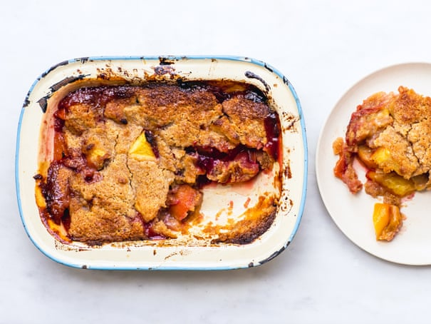 How to use up overripe or bruised peaches – recipe
