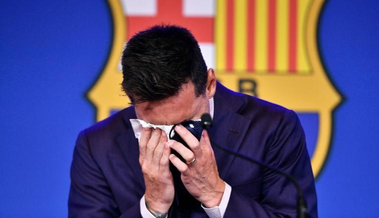 Lionel Messi says PSG move is a 'possibility' as he bids tearful farewell to Barcelona