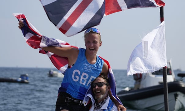 'I just gave it everything': Emma Wilson takes Olympic windsurfing bronze