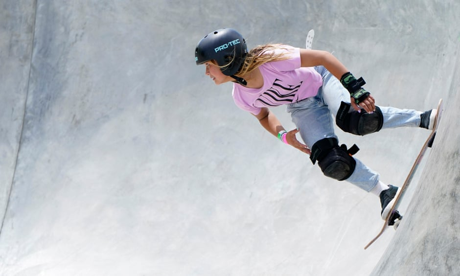 Sky Brown ready to wow the world as 13-year-old skateboarder makes Olympic bow