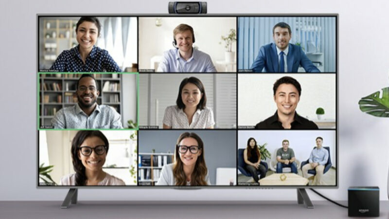 Amazon's Fire TV Cube can now do Zoom video calls